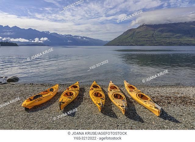 Queenstown, Lake Wakatipu, Otago, South Island, New Zealand