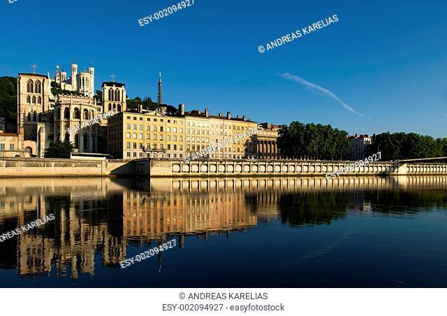 The city of Lyon, France