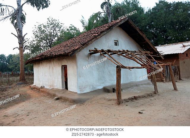 Tribal House, PARJA TRIBE, Damagul Village, Jagdalpur Tehsil, Baster District, Chattisgarh, India
