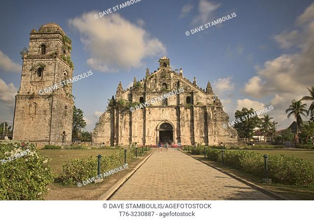 The UNESCO World Heritage Paoay (St. Augustine) Church, Paoay, Ilocos Norte, Philippines