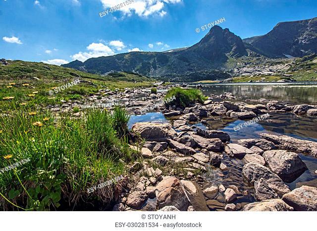 The Trefoil Lake, The Seven Rila Lakes, Rila Mountain, Bulgaria