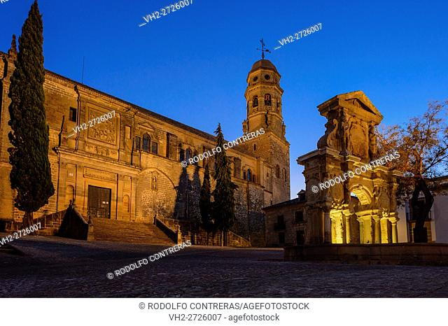 Cathedral in Baeza, Jaen