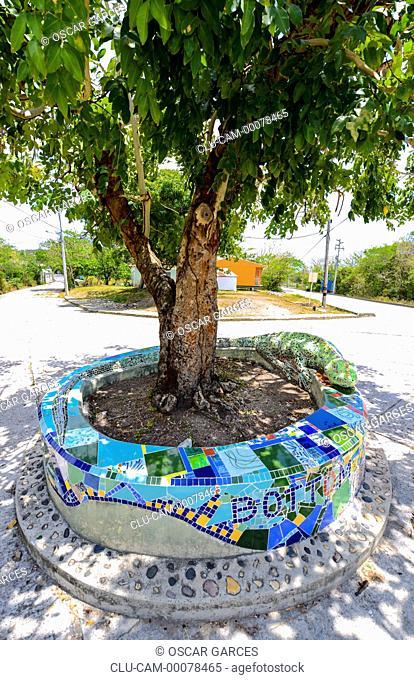 Urban Art, San Andres Island, Archipelago of San Andres, Providencia and Santa Catalina, Colombia