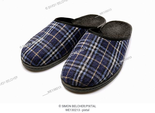Pair of Slippers, Cut Out