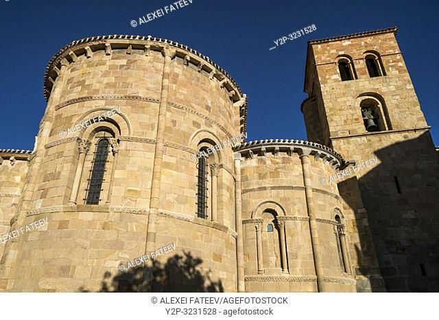 Church of St. Peter in Ã. vila, Castile and León, Spain