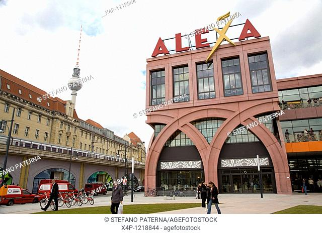 Alexa Shopping Mall, Berlin's second biggest shopping center, Berlin, Germany