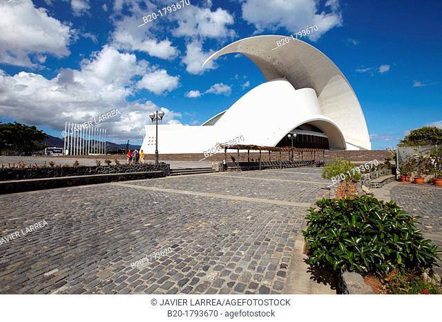Auditorio de Tenerife, Auditorium, Architect: Santiago Calatrava, Santa Cruz de Tenerife, Tenerife, Canary Island, Spain
