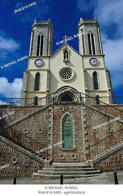 Cathedral St. Joseph, Noumea, New Caledonia, Melanesia, South Pacific, Pacific