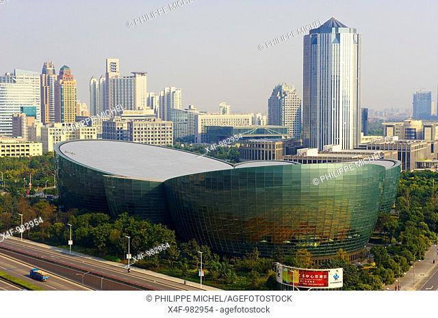 Shanghai Oriental Arts Center, Pudong, Shanghai, China