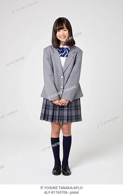Japanese junior high student