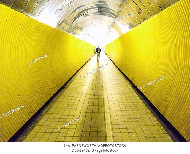 STOCKHOLM SWEDEN Brunkebergstunneln, Brunkebergs tunnel