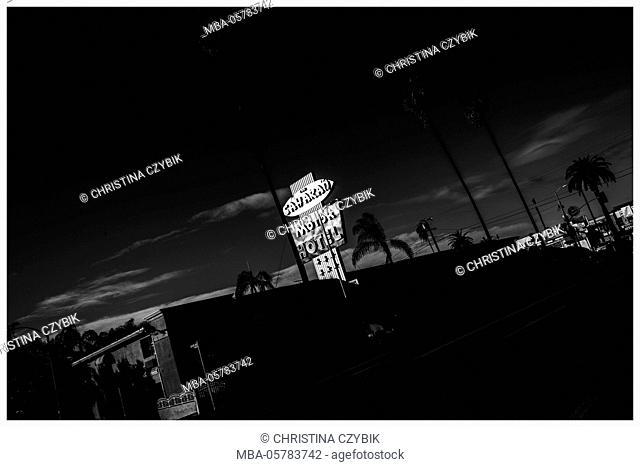 LA Noir: Safari Motor Motel Hollywood
