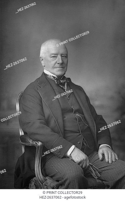 'The Hon. Sir Henry Hawkins', c1891. Artist: W&D Downey