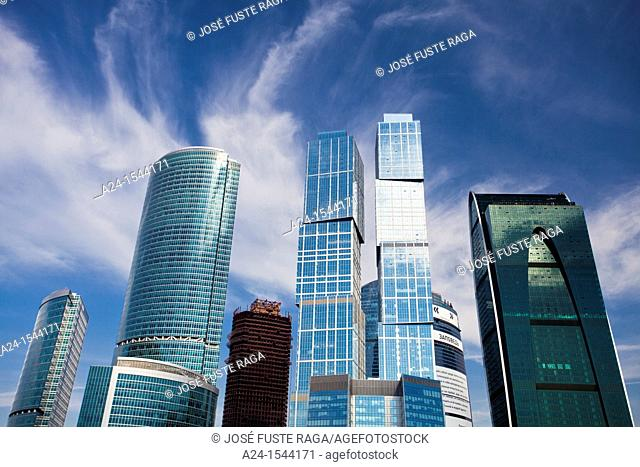 Rusia, Moscow City , New 'Moscow City' Skyline