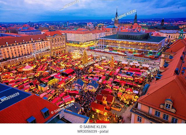 Dresdner Striezelmarkt, Deutschland