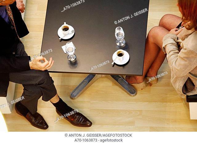 Date with a businessman and a women