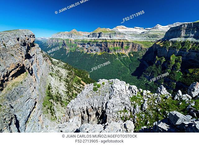 Ordesa y Monte Perdido National Park, Huesca, Aragon, Spain, Europe