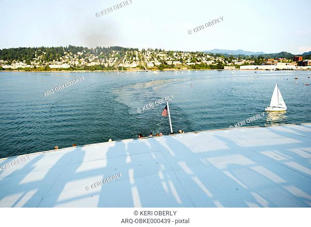 Alaska state ferry, Stock Photo, Picture And Rights Managed