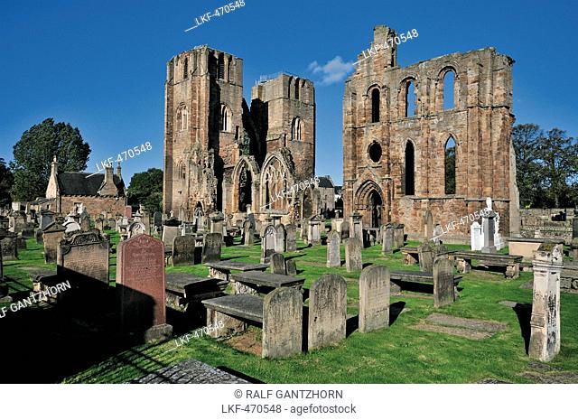 Elgin Cathedral, Elgin, Moray, Scotland, Great Britain