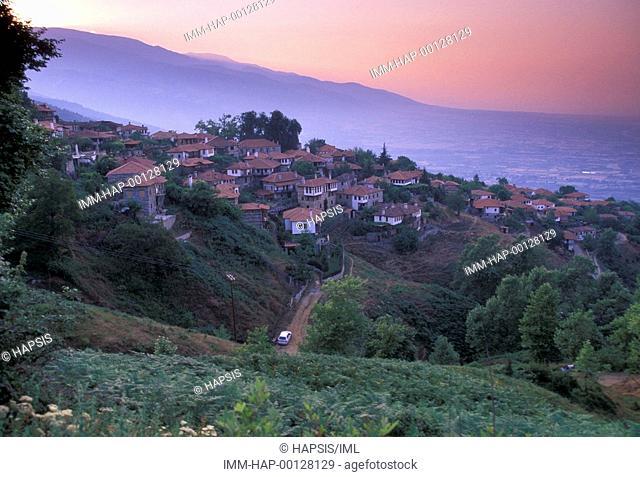 General View, Paleios Panteleimonas, Macedonia Central, Greece