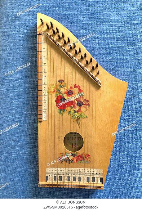 Music instrument zither
