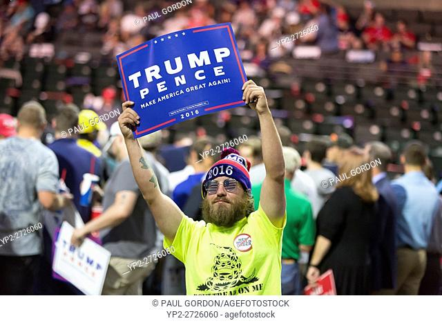Everett, Washington: Donald J. Trump for President Rally at Xfinity Arena