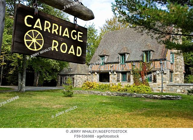 Carriage House, Carriage Road, Acadia Nat. Park, ME