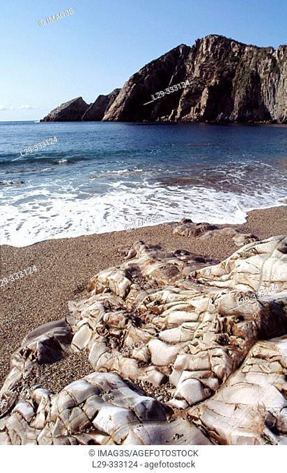 Playa del Silencio (aka Cala Gavieiru). Asturias, Spain