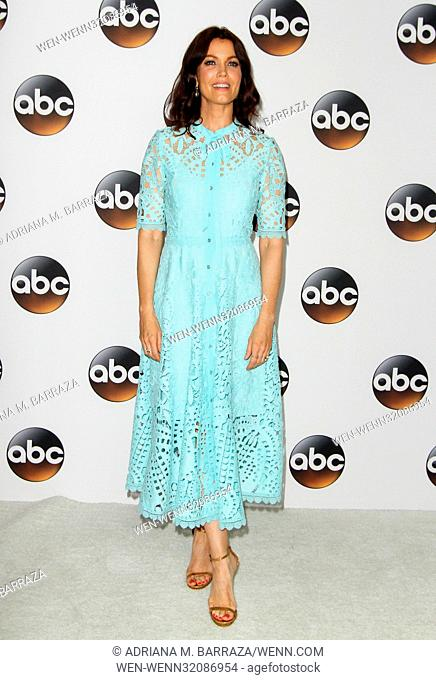 Disney ABC TCA Summer Press Tour 2017 held at the Beverly Hilton Hotel. Featuring: Bellamy Young Where: Los Angeles, California