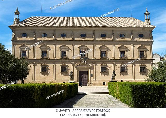 Palacio de las Cadenas (built 16th century) in the town of Úbeda, now occupied by the Town Hall. Jaén province, Andalusia, Spain