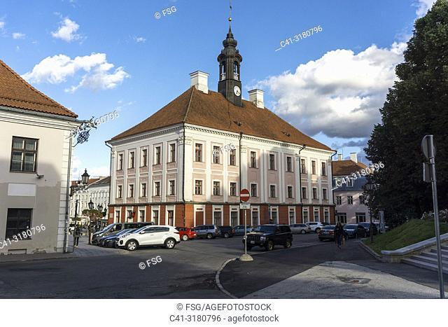 Town Hall. Tartu. Estonia
