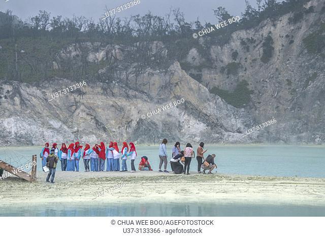White Crater Lake (Kawah Putih), Bandung, Java, Indonesia