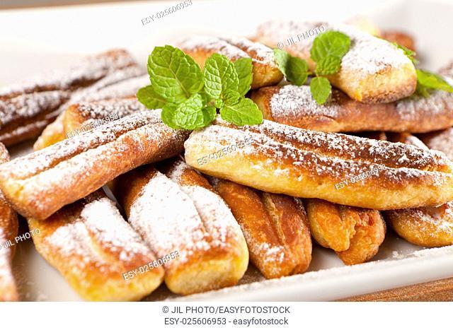 "Cake dessert """"St Expedito Fingers"""""