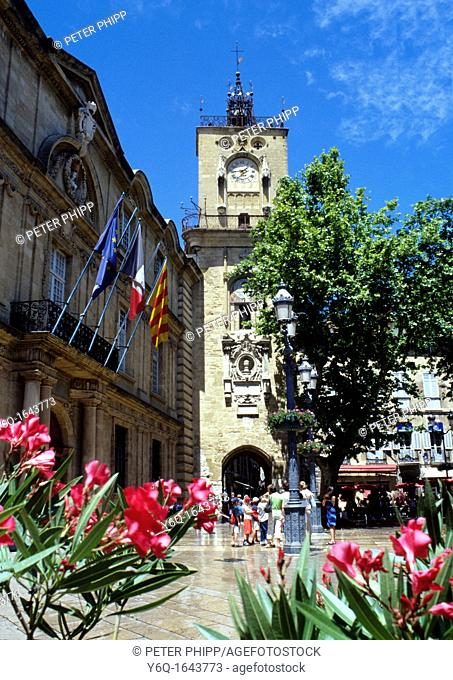 Town Centre of Aix Provence France
