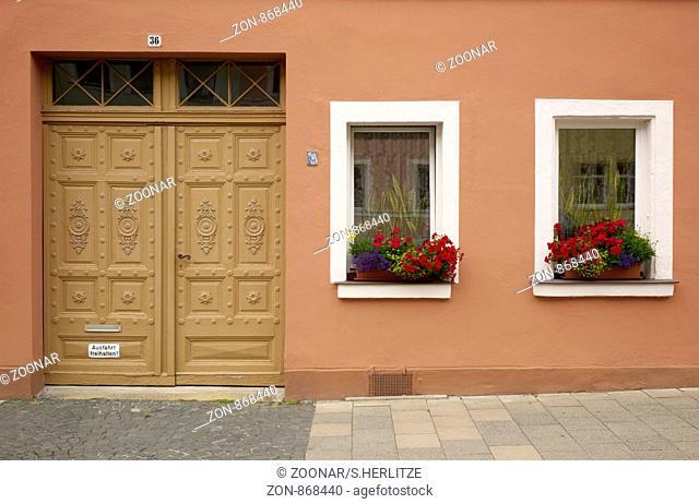 Door facade