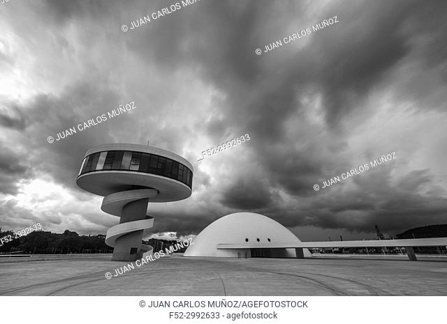 Centro Niemeyer, Aviles, Asturias, Spain, Europe