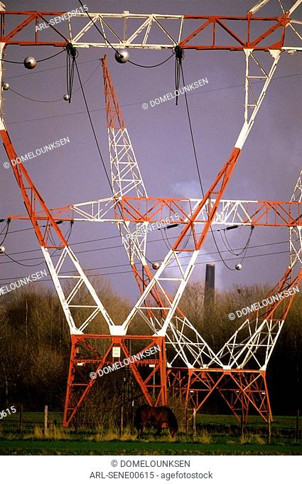 Electric pillars