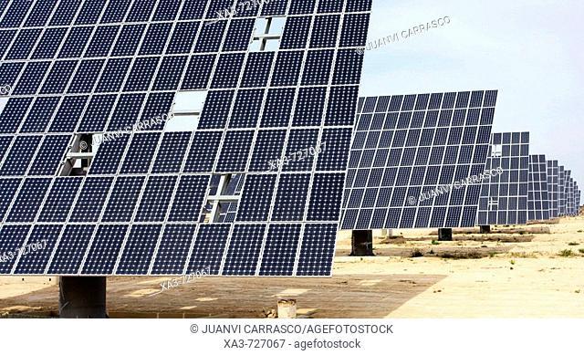 Solar panels. Murcia, Spain