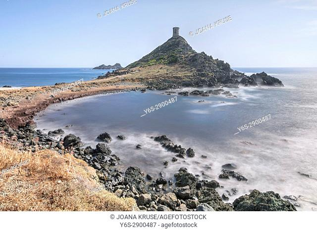 Pointe de la Parata, Iles Sanguinaires, Ajaccio, Corsica, France