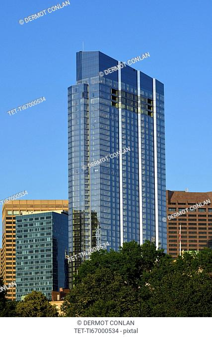 USA, Boston, Massachusetts, Tall office building