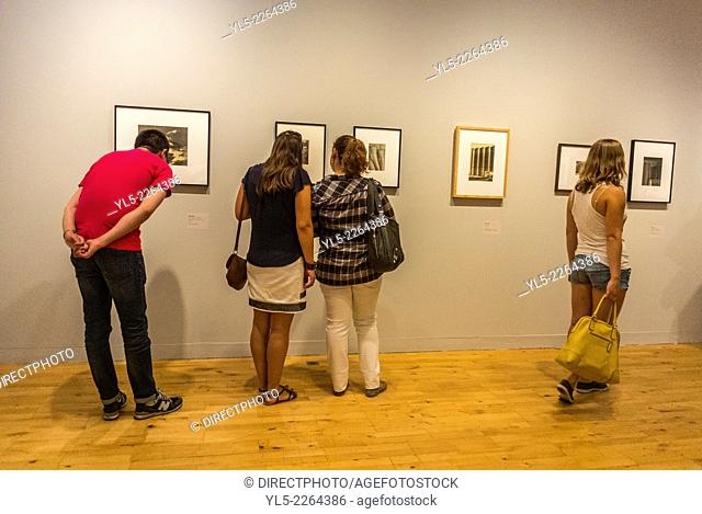 Bordeaux, France,, Tourists Visiting inside French Museum, Musée des Beaux-Arts