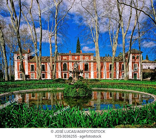 Palace and gardens of Moratalla (year 1918), Gardens designed by the French engineer J. C. N. Forestier and declared Artistic Garden in 1983, Hornachuelos