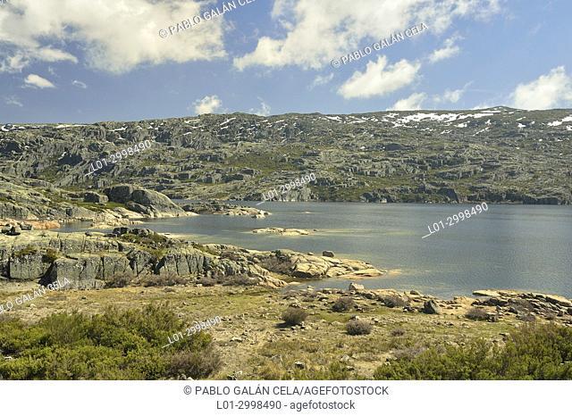 Lago Comprida. Serra da Estrela. Portugal