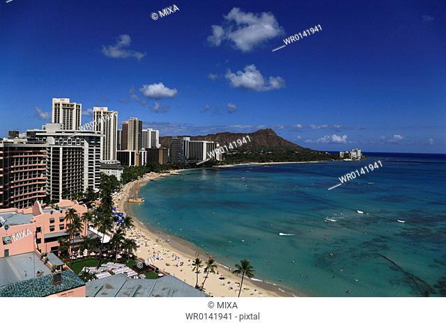 Beach Resort, Honolulu, Hawaii, U.S.A