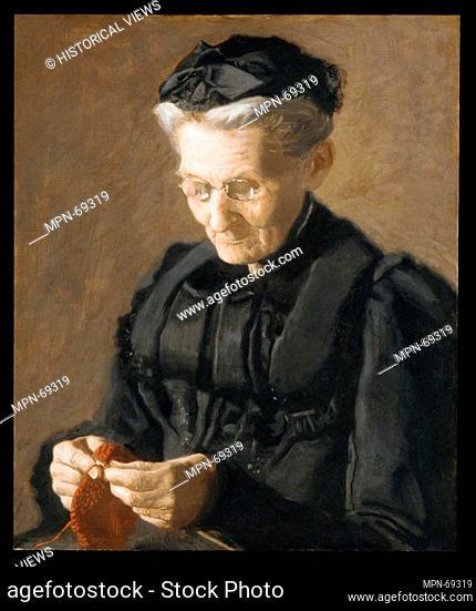 Mrs. Mary Arthur. Artist: Thomas Eakins (American, Philadelphia, Pennsylvania 1844-1916 Philadelphia, Pennsylvania); Date: 1900; Medium: Oil on canvas;...