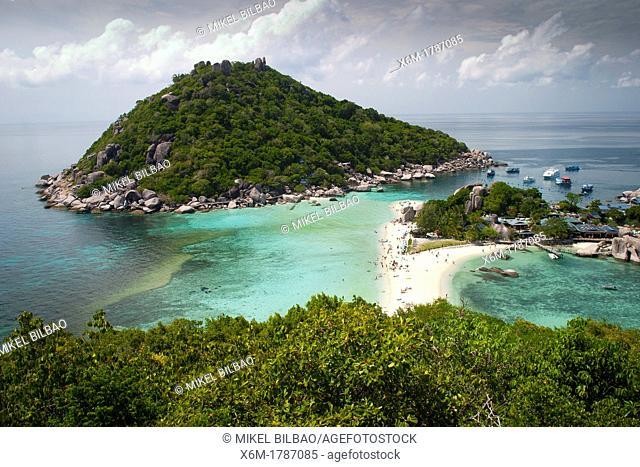 Ko Nang Yuan islands Ko Tao  Gulf of Thailand  Thailand