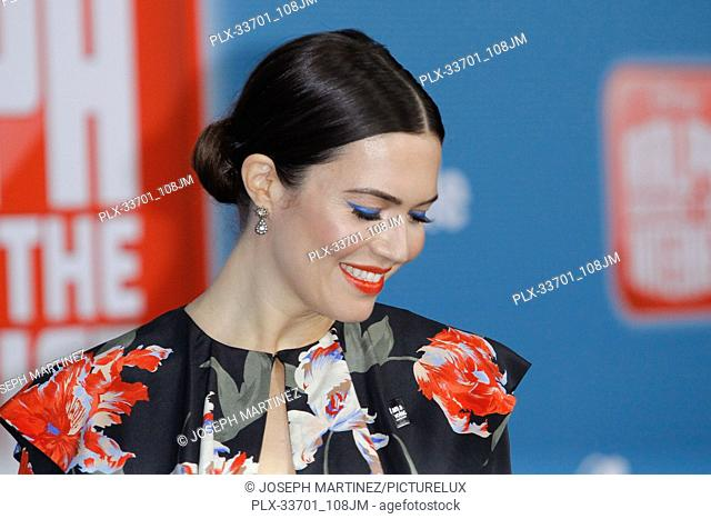 "Mandy Moore at the World Premiere of Disney's """"Ralph Breaks The Internet"""" held at El Capitan Theatre in Hollywood, CA, November 5, 2018"
