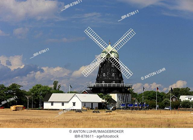 Eight-storey windmill, one of the largest windmills in the world, Oeland, Kalmar County, Sweden, Scandinavia, Europe