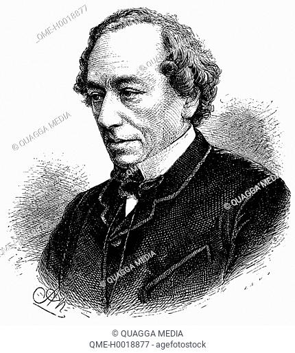 Benjamin Disraeli, 1st Earl of Beaconsfield (21 December 1804 – 19 April 1881), British Prime Minister, parliamentarian, Conservative statesman and author