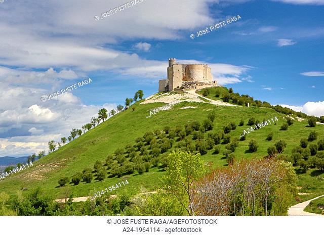 Spain , Guadalajara Province, Jadraque City , Jadraque Castle
